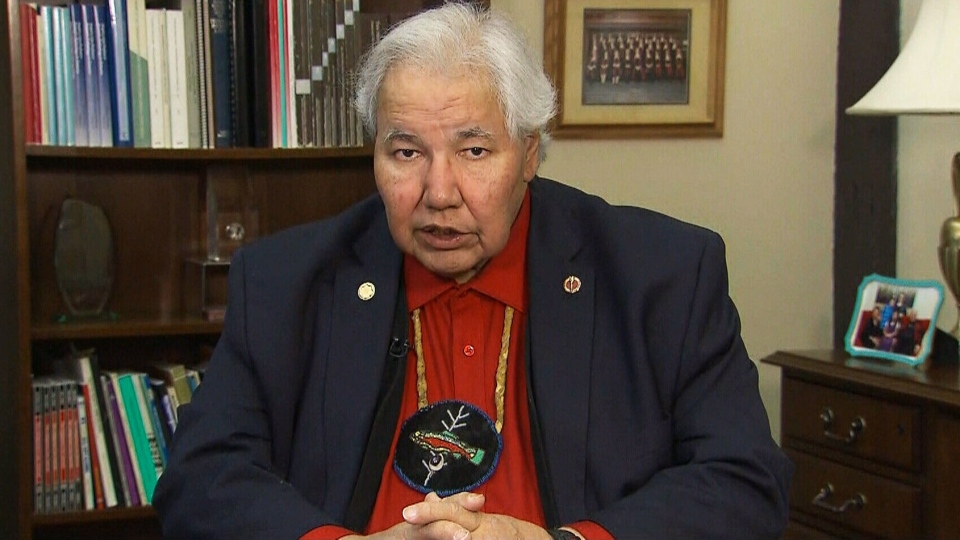 Sen. Murray Sinclair, chief commissioner of the Truth and Reconciliation Commission, speaks to CTV's Power Play on Wednesday, March 28, 2018.