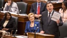 Ontario budget announcement