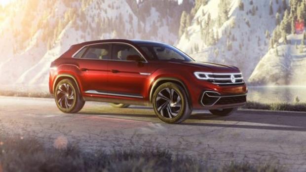 vw reveals  images  atlas cross sport suv concept ctv news autos
