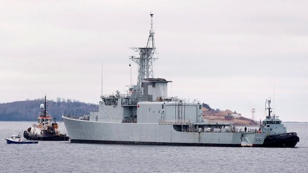 Canadas last destroyer headed for scrap heap