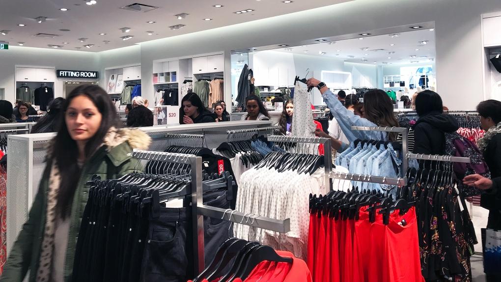 H&M opening