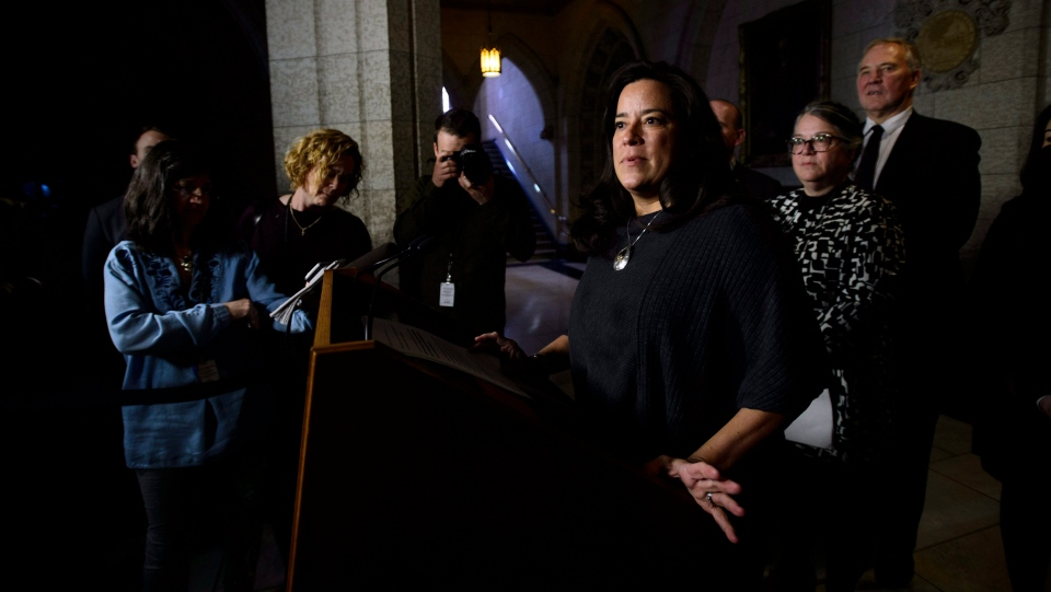 Justice Minister Jody Wilson-Raybould