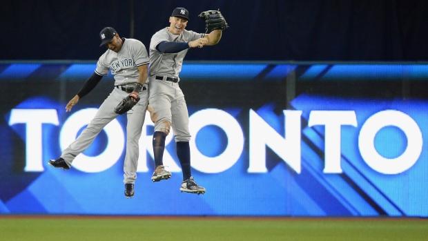 MLB Warns Yankees: Aaron Judge, Giancarlo Stanton Beer Foam Art Violates Rules