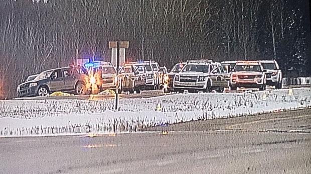 Marlborough Park murder suspect shot dead by police west of Edmonton