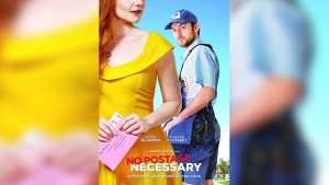 'No Postage Necessary' will get its U.S. theatrical release and worldwide blockchain debut in June and will also be available to buy online using cryptocurrency. (Courtesy of Two Roads Picture Co.)