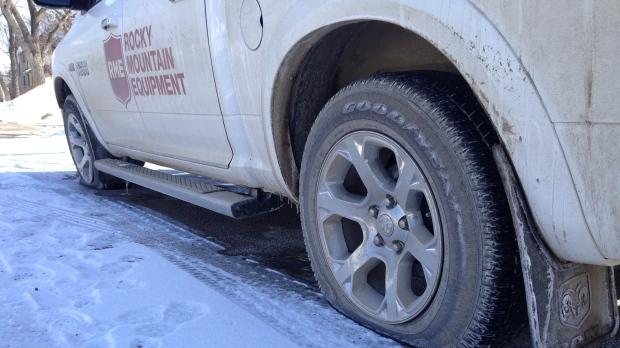 yorkton slashed tires