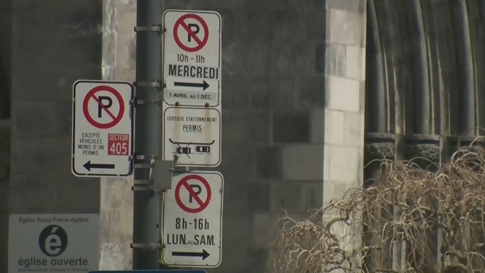 montreal parking