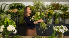 Florist Philippa Craddock