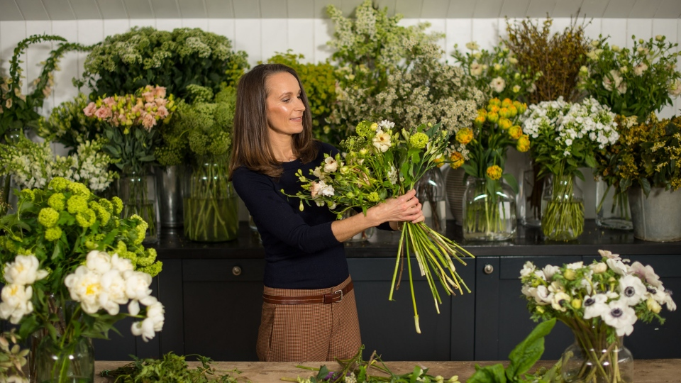 Florist Philippa Craddock will design the arrangements for Prince Harry's wedding to Meghan Markle. (Kensington Palace)