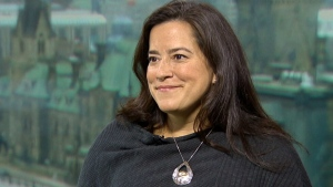Justice Minister Jody Wilson-Raybould on CTV's Question Period. (CTV News)