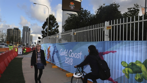 Commonwealth Games banners, Gold Coast, Australia