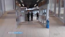 Police at Sudbury Bus Terminal