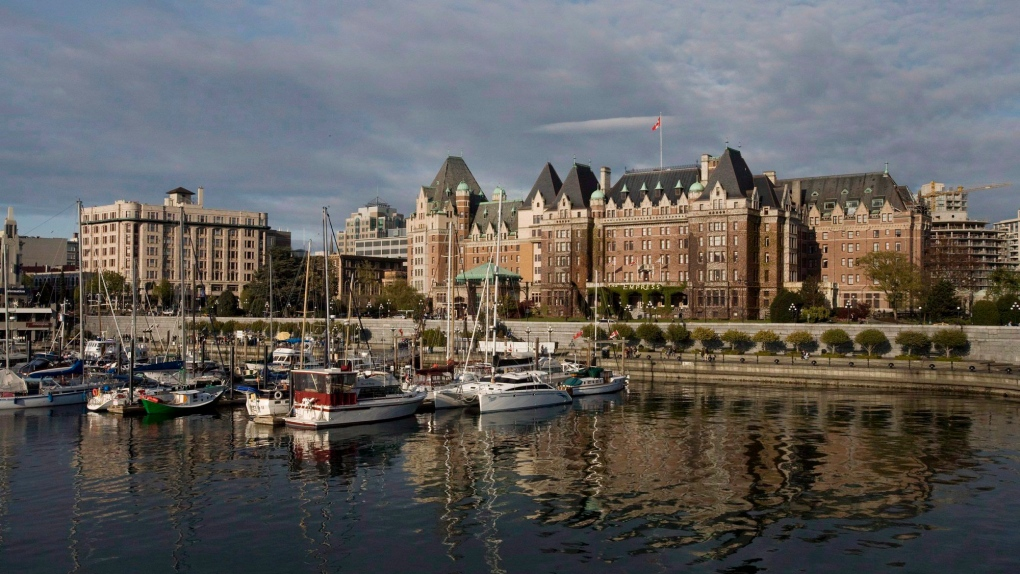 The Fairmont Empress hotel in Victoria, B.C.