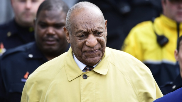 Bill Cosby in Montgomery County Courthouse