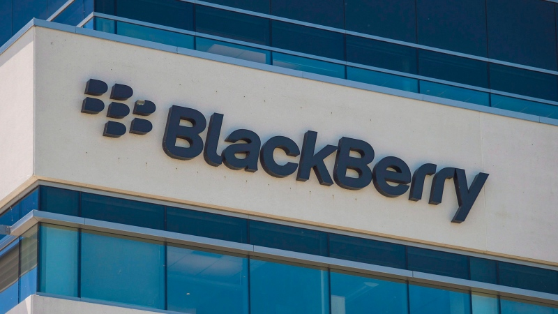 BlackBerry's headquarters in Waterloo, Ont. is shown on Wednesday June 22 , 2016. Blackberry Ltd. has added Snap Inc. to the list of companies it's taking to court in California for alleged patent infringement. THE CANADIAN PRESS/Eduardo Lima