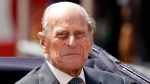 Prince Philip sits in a carriage in London, Wednesday, July 12, 2017. (AP / Matt Dunham)