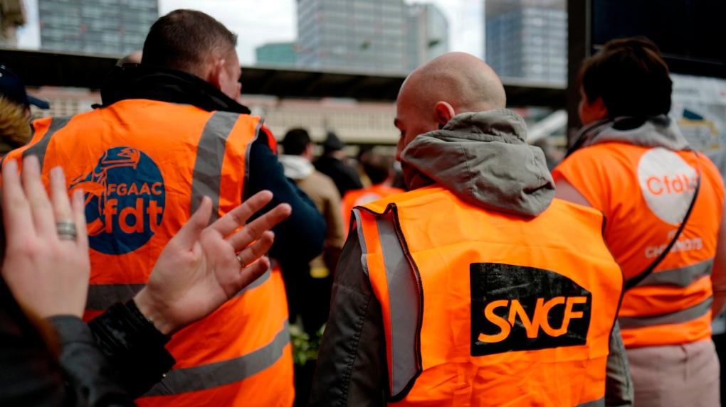 France rail strike