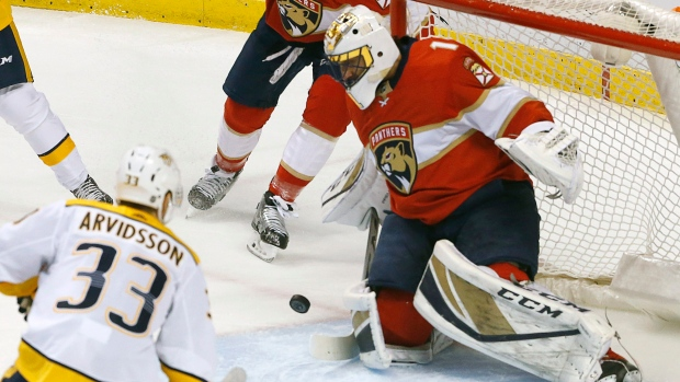 Nhl Scores Panthers Top Predators After Goal Disallowed In Final