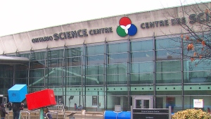 The Ontario Science Centre in Toronto is seen in this undated file image.