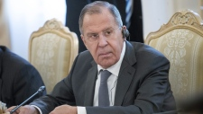 Russian Foreign Minister Sergey Lavrov in Moscow