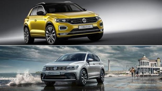 volkswagen releases sporty t roc tiguan allspace r line variants ctv news autos. Black Bedroom Furniture Sets. Home Design Ideas