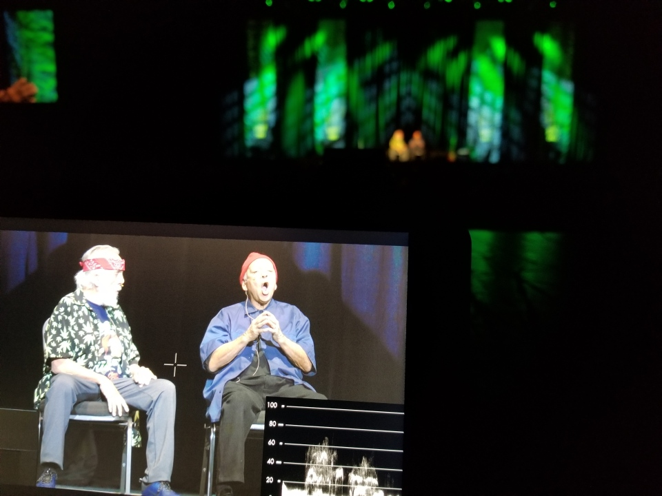 W5 with exclusive access to the Cheech and Chong stage show at Casino Rama in Orillia, Ont. (Photo: Paul Haber)