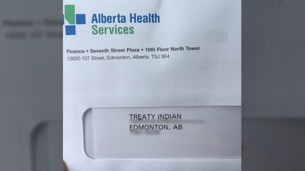 Alberta health services apologizes for letter addressed to treaty alberta health services apologizes for letter addressed to treaty indian ctv news malvernweather Images