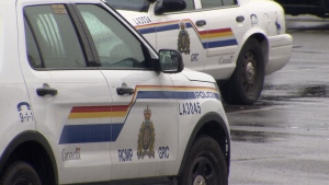 Langley RCMP cruisers are shown in this CTV News Vancouver file photo.