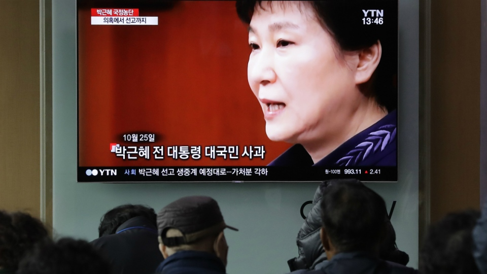 Park Geun-Hye found guilty of abuse of power