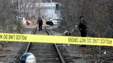 Girl struck by train in Hamilton