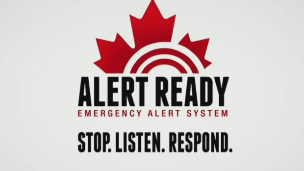 Emergency alert system test of cell phones failed