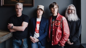 Andrew Scott, left to right, Jay Ferguson, Chris Murphy and Patrick Pentland pose in this undated handout photo. Sloan readies their 12th album for release on Friday. (THE CANADIAN PRESS/HO - Universal Music)