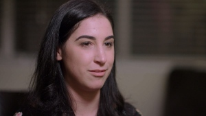 Plaintiff Kat Palmer speaks with W5's Avery Haines