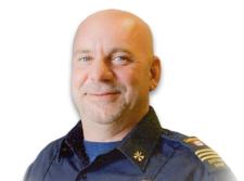 Lakeshore District Fire Chief Joe St. Louis