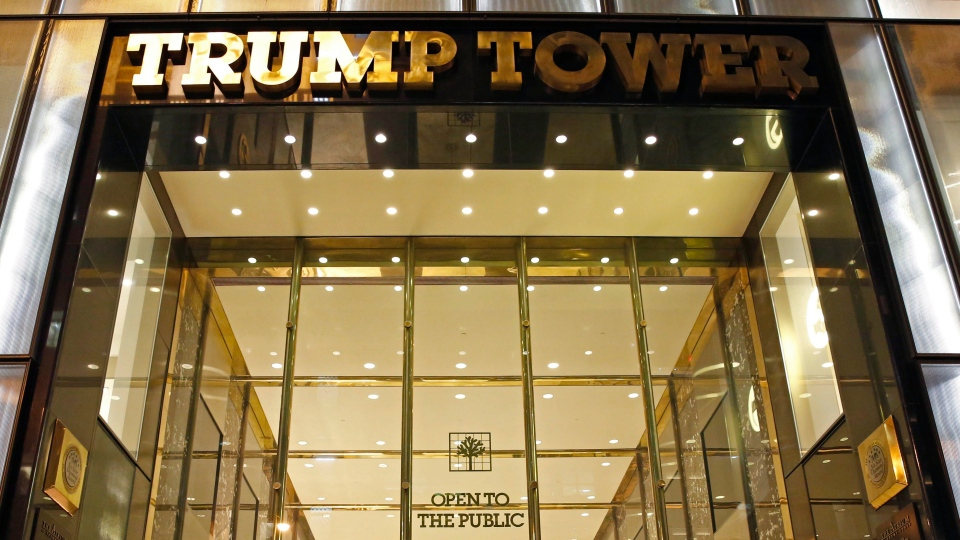 In this file photo, Trump Tower is seen on Thursday, April 28, 2016, in New York. (AP Photo / Kathy Willens)