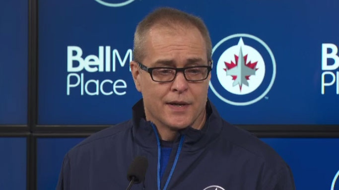 Winnipeg Jets head coach Paul Maurice