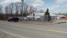 Fleurish cannabis facility in rural Kemptville.