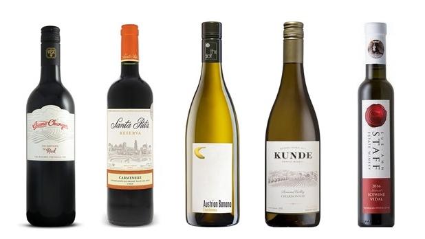 Natalie MacLean's Wines of the Week - Apr. 9, 2018