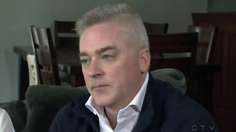 Kitchener-Conestoga MPP Michael Harris speaks with CTV Kitchener on Monday, April 9, 2018.