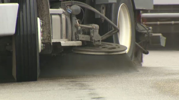 Calgary street sweeping