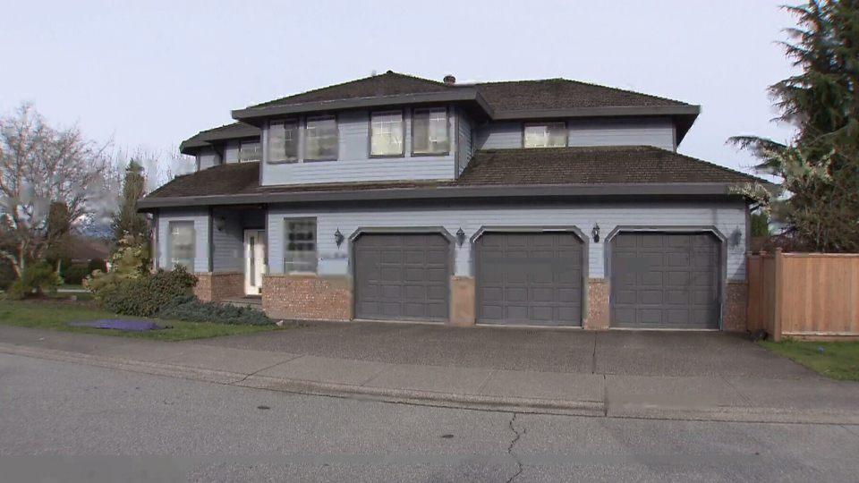 A fire broke out at home in the 9400-block of 163 Street in Surrey on the morning of April 9, 2018.
