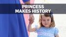 Princess Charlotte set to make history