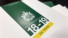 Saskatchewan 2018-19 budget