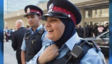 Could a police officer who wears a hijab be fired?