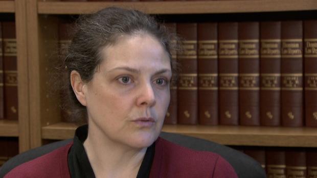 Vivian Baumann speaks to CTV News on April 10, 2018.