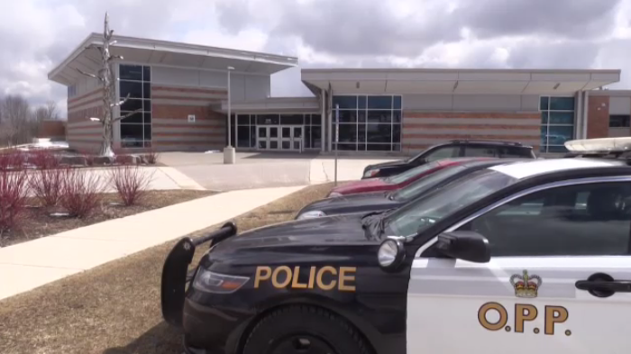Provincial Police say they will be patrolling more following a string of school thefts.