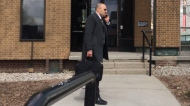 Dr. Bassam El-Tatari outside a Windsor court on Tuesday, April 10, 2018. (Teresinha Medeiros / AM800)