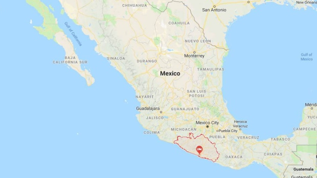 101 sea turtles found dead on Mexican beaches | CTV News Dead State Map on