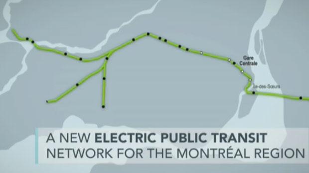 Montreal REM light rail