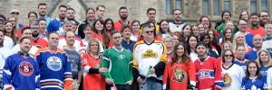 CPC staffers wearing jerseys to honour Broncos
